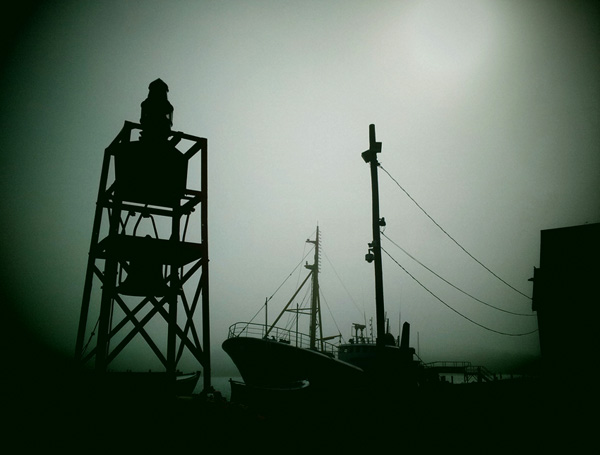 Lunenburg Fog (photograph copyright 2013 Arthur Marshall)